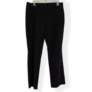New York & Co Black 7th Avenue Dress Pants 12